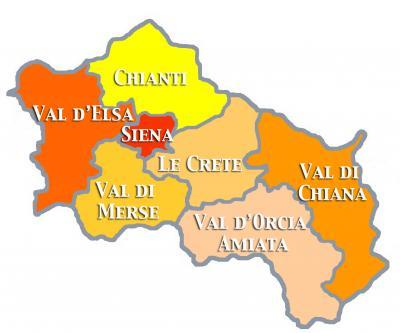 La provincia di Siena