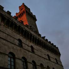 Tramonto a Montepulciano