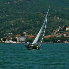 Una regata a Passignano sul Trasimeno